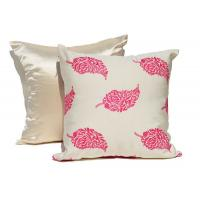 China Embroidered Decorative Cushion Covers 100% Cotton Couch Throw Pillows wholesale
