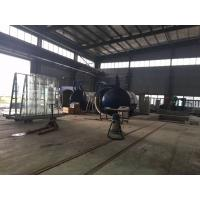 China 2M Or Customized Inner Diameter Autoclave Machine / Glass Autoclave For Bricks / Glass / Wood wholesale