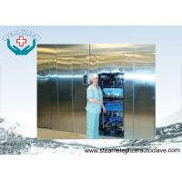 China CSSD Pit Mount Double Door Autoclaves With Horizontal Sliding Door on sale