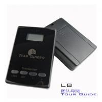 China cheap L8 black Tour Guide Audio System Transmitter And Receiver For Team Traveling wholesale