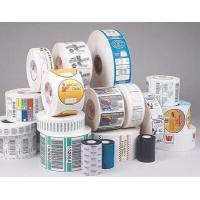 China Gloss Lamination Security Sticker Labels , Adhesive Printable Tamper Proof Labels wholesale