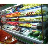 China Energy Saving Multideck Open Chiller , Grocery Fruit and Vegetable Display Showcase wholesale