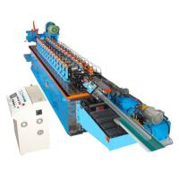 China 15KW Hat Channel Cold Rolling Machine With Cr 12 Blade Hydraulic Cutting wholesale
