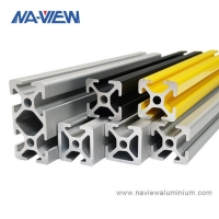 Buy cheap 2020 2040 2060 4040 V Slot Rail Extruded Aluminum Extrusions Profile from wholesalers