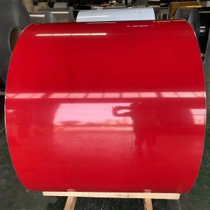 China A1060 A3003 Color Coated Prepainted Aluminium Coil T3 Temper wholesale