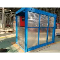 China 118kg Mast Construction Lifts, 8 Rack Modulus 54m Elevator for Airport Built - up wholesale