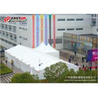 China White PVC Cover 15x30m Wedding Marquee Tent For Hire Heavy Wind Resistance wholesale