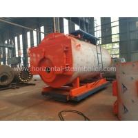 China 1.4 MW Oil Fired Hot Water Boiler Heating System Horizontal Type Corrugated Furnace wholesale