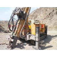 Quality Crawler Hydraulic Engine Drived Rock Drilling Rig , Mining Reverse Circulation for sale