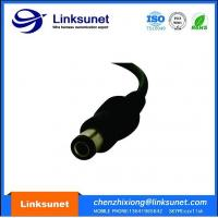 China OD 6.5MM Soldering Or Crimping Injector Wiring Harness With DC Power Plug wholesale