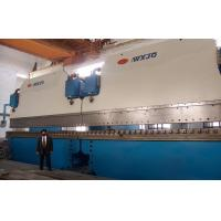China Hydraulic CNC Tandem Press Brake heavy duty plate bending machine  2-400T / 7000mm wholesale