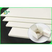China Eco - Friendly 70 * 100cm 250gsm - 400gsm SBS Paper Board For Cosmetic Box wholesale