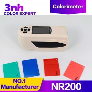 China Delta E Color Measurement Chroma Colour Testing Machine Portable Digitable Colorimeter 3nh NR200 wholesale