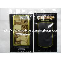 Classic Humidified Cigar Humidor Bags With Zipper Resealable For Cigar Packaging