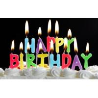 China Number candles Letter candles Happy birthday candles wholesale