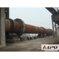 China Simple Structure And Little Noise Rotary Kiln With Speed 0.23 - 2.26r/min wholesale