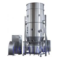 China Pharmacy Industry Electrical Heating Fluid Bed Granulator For Indoor / Workshop wholesale
