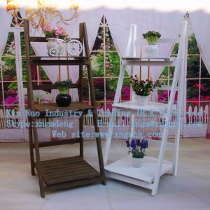 China Wooden planter boxes, wooden folding frame, wooden racks, wood storage rack on sale