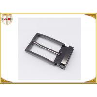 China Zinc Alloy Reversible Metal Belt Buckle For Business Man Die Casting Plating wholesale