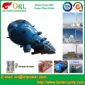 Quality Stainless Steel Boiler Mud Drum , Boiler Steam Drum SGS High Efficiency for sale