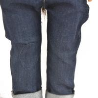 China 2019 Trendy Mini boy doll Clothes jeans Washed jeans customized wholesale