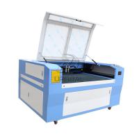 China Cheap 1390 Titanimum Plate OSB Board Laser Cutter Engraver Machine with Dual Heads wholesale