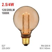 Buy cheap G95 Bulb, Deco Bulb, E27 LED Bulb, Fashionable Glass Bulb, Energy-saving Bulb from wholesalers