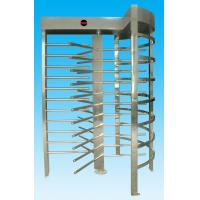 Quality High security RS485 full height turnstile support magcard, bar code and counting function for sale