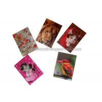 Quality Small Size Adhesive 3D Lenticular Stickers PET/ PP Printing For Key Chain for sale