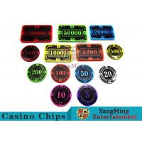 Buy cheap New 12g  Crystal Acrylic Poker Chips  can be customized from wholesalers
