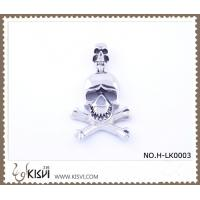 China Hot sell 316 Stainless Steel Death's-Head Pendant H-LK0003 wholesale