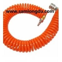 China PU spiral hose with good quality, air hose,PU coil tube, PU hose, polyurethane hose,PUC1208, Color as request wholesale