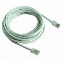 China CAT5E (RJ45.8P8C) Ethernet Network in 10ft (3.0m) Cable, Used for Computers wholesale