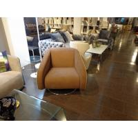 China Unique Modern Upholstered Chairs , Fabric Swivle Chair , cowhide leather chair wholesale