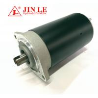 China 80mm OD Direct Drive Motor Electrical Hydraulic Black 800w 24 Volt 3650 RPM wholesale