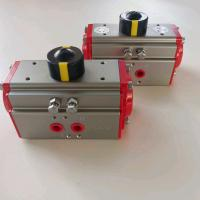 China aluminum alloy  two stage pneumatic actuators with limit siwtch box on sale