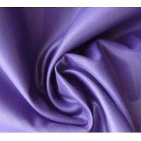 Elegant Appearance Polyester Pongee Fabric 360T Yarn Count Comfortable Hand Feel