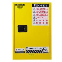 Metal Chemical Storage Cabinets , Dangerous Goods Cabinets For Flammable Liquid