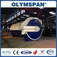 China Rubber industry Laminated Glass Autoclave Aerated Concrete / Autoclave Machine Φ2m wholesale