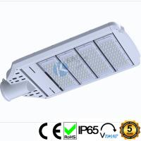 China White Shoebox Commercial Street Lights 210 Watts With Corrosion Resistant Hardware wholesale