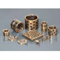 Quality Casting Bronze Bearings , Strengthening Brass With Solid Lubricant Casting for sale