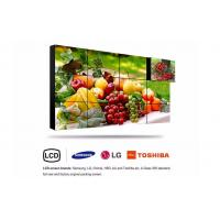 Buy cheap Black 46 inch Wall Mounted LCD Video Wall Multimedia With 4K Panel Samsung from wholesalers