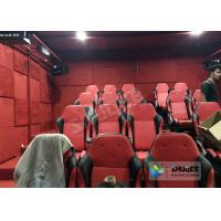 China Electric Cylinder 9 Seats 5D Movie Theater System With Safe Package Build In Park wholesale