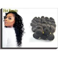 "China 20"" Virgin Human Hair Extensions / Malaysian Body Wave Bundles wholesale"