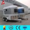 China Australian standard horse box trailer sale,2 horse horse float,horse carriage trailer wholesale