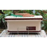 China Portable BBQ Ceramic Cooker Grill , Mini Clay Ceramic Outdoor Grill Custom Made wholesale