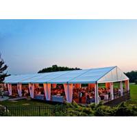 China Ceremony Huge Wedding Party Tent Aluminum Alloy 6061T6 Material Easy Maintain wholesale