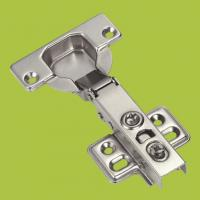 China kitchen cabinets accessories full-over type hinge with Nickel finish wholesale