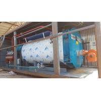 China 10Ton Gas Fired Boiler Efficiency Wet Back Structure  Industrial Boiler Use In Milk Factory wholesale