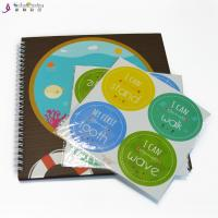 China Professional Baby Memory Books Record First Year Envelope Baby Feet Hand Ink wholesale